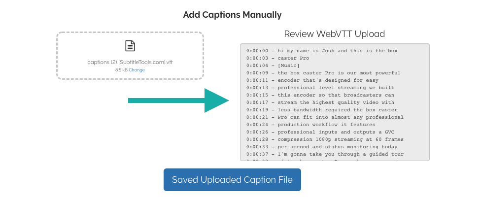 How to Convert a  SRT file From YouTube and add it to
