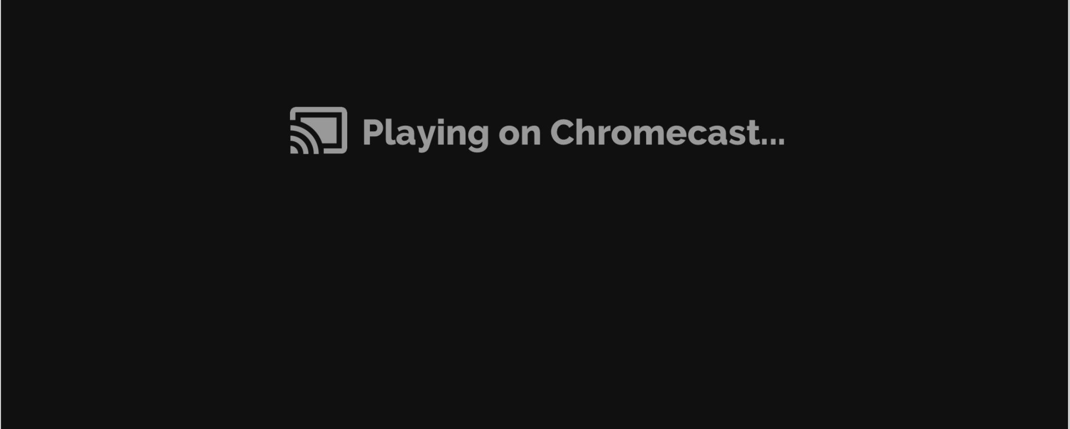How to use Chromecast with the BoxCast Video Player