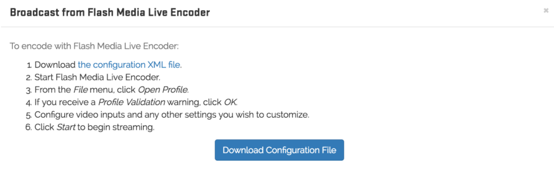adobe flash media live encoder download
